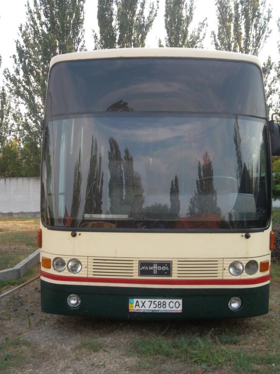 Замена лобового стекла на автобусе Van Hool Alizee 25