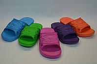 Детские шлепанцы оптом цветные, фото 1