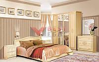 Спальня Флоренция (с ламелями / без матраса)