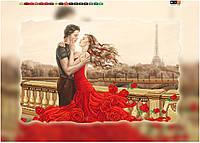"Схема для вышивки бисером на подрамнике (холст) ""Романтика Парижа"""