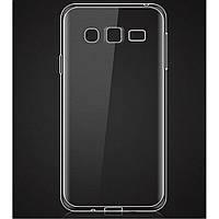 Силиконовый чехол Ultra-thin на Samsung Galaxy J2 SM-J200H Clean Grid Transparent, фото 1