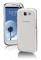 Силиконовый чехол Ultra-thin на Samsung Galaxy S3 GT-I9300 Clean Grid Transparent