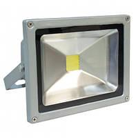 Светодиодный прожектор Feron LL-221 1LED 20W белый 6400K 230V (185*156*105mm) Серебро IP65