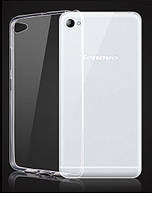 Силиконовый чехол Ultra-thin на Lenovo S90 Clean Grid Transparent, фото 1