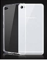 Силиконовый чехол Ultra-thin на Lenovo S90 Clean Grid Transparent