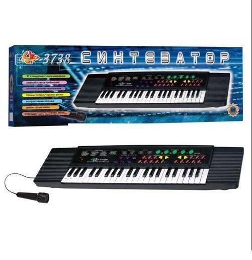Детское пианино-синтезатор «ElectronicKeyboard SK-3738»