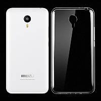 Силиконовый чехол Ultra-thin на Meizu M2 Note Clean Grid Transparent, фото 1