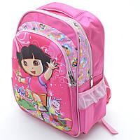 Отличный рюкзак «Dora» для девочек. Высокое качество. Ортопедическая спинка. Вместительный рюкзак. Код: КДН389, фото 1