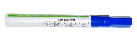 Специальный маркер для бирок (синий цвет), фото 2