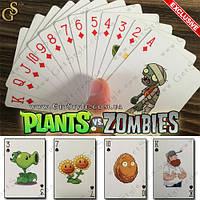 Игральные карты Plants vs. Zombies - 54 шт.