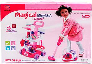 Детский игровой набор для уборки арт.А5951/А5952/5938 с пылесосом батар,муз,свет, фото 2