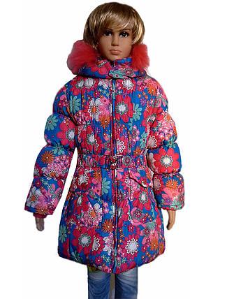 Пальто цветы, фото 2
