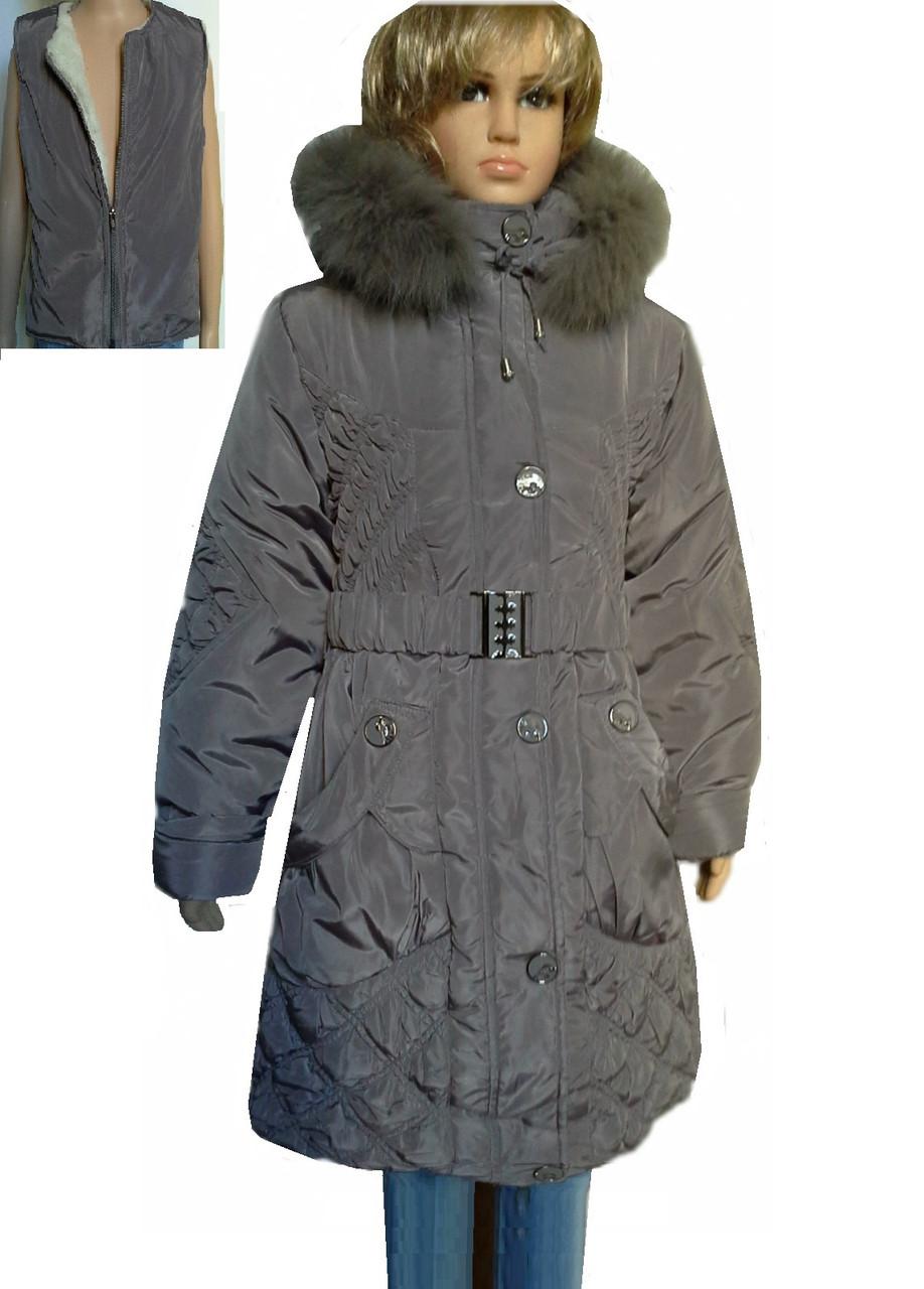 Пальто ромбы