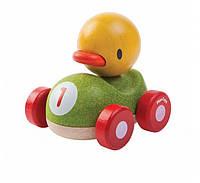 Деревянная игрушка Plan Тoys - Утенок-гонщик