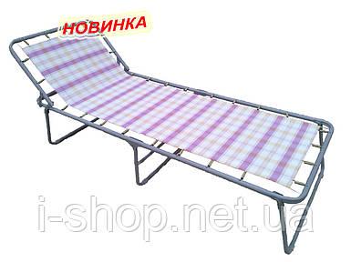 """Кровать раскладная """"Надин"""" с452 жесткая, матрац текстилен"""