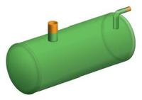 Резервуар подземный для технической воды 2000л