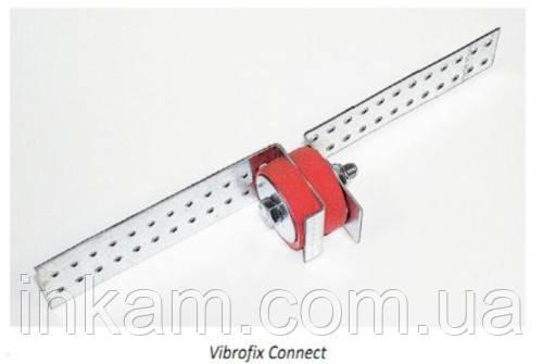 Звукоизоляционное крепление Vibrofix Connect для гипсокартонных перегородок