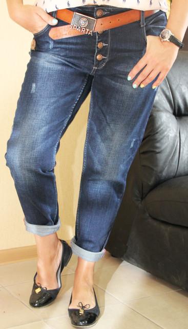 Женские джинсы полубаталы / баталы
