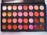 Палитра помад блесков 32 цвета с маркировкой, фото 1