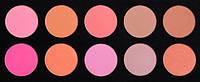 Профессиональная палитра палетка  румян 10 цветов, фото 1