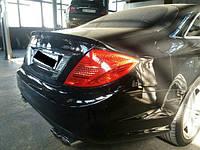 Спойлер багажника, шабля, Mercedes CL-klass w216