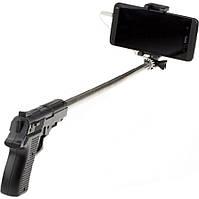 Монопод - палка для селфи Пистолет, фото 1