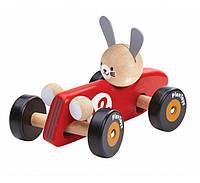 Деревянная игрушка Plan Тoys - Кролик-гонщик