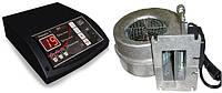 Блок управления Tech ST-24 (Sigma) и вентилятор WPA-120 для твердотопливных котлов
