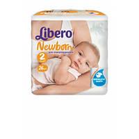 Подгузники детские Libero Newborn (2) 3-6 кг 26 шт