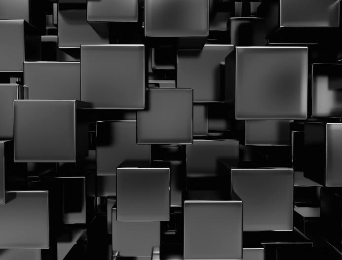 Фотообои Кубический узор