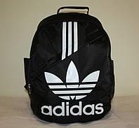 Спортивный городской рюкзак Adidas черный белый
