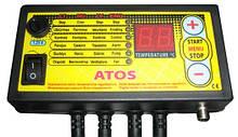"""Блок управління """"Kom-Ster"""" ATOS (посилений 400 Вт) для твердопаливного котла."""