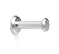 Крючок мебельный однорожковый алюминий Z5412G6, фото 1
