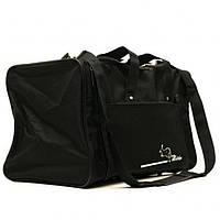 Дорожная сумка Wallaby черная средняя