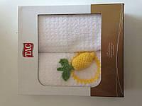 Набор кухонных полотенец  40x70(2) махра Лимон