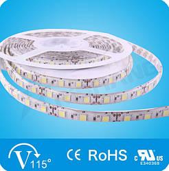 Белая 14,4W SMD5050 (60 LED/м) (w) 7120-7550K Outdoor IP64 Premium