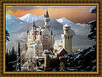Репродукция картины Замок 200х240 мм