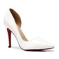 Белые нарядные туфли