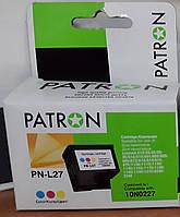 Картридж струйный для принтера PATRON LEXMARK 10N0227 (PN-L27) COLOUR