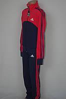 Спортивный костюм  в стиле Adidas на девочку три полосы школа 2016, фото 1