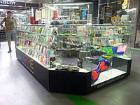 Торговый остров для продажи гаджетов и мобильных аксессуаров в ТРЦ  NEW WAY на Вербицкого, 1