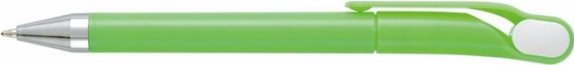 Ручка пластиковая OPTIMA. Зелёная
