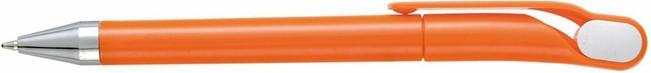 Ручка пластиковая OPTIMA. Оранжевая