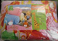 Детское одеяло в кроватку (шерсть)