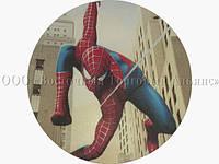 Вафельная картинка - Человек-Паук №2 - Ø21