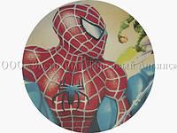 Вафельная картинка - Человек-Паук №3 - Ø21