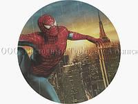 Вафельная картинка - Человек-Паук №5 - Ø21