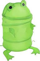 Корзина мешок для игрушек лягушка