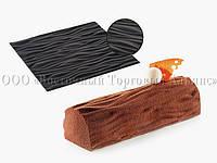 Силиконовый текстурный коврик для десертов Tex01 Wood SILIKOMART