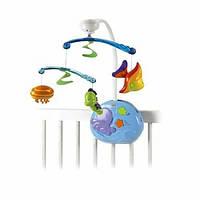 Fisher-Price Музыкальный мобиль Чудеса океана Ocean Wonders Gentle Waves Musical Mobile